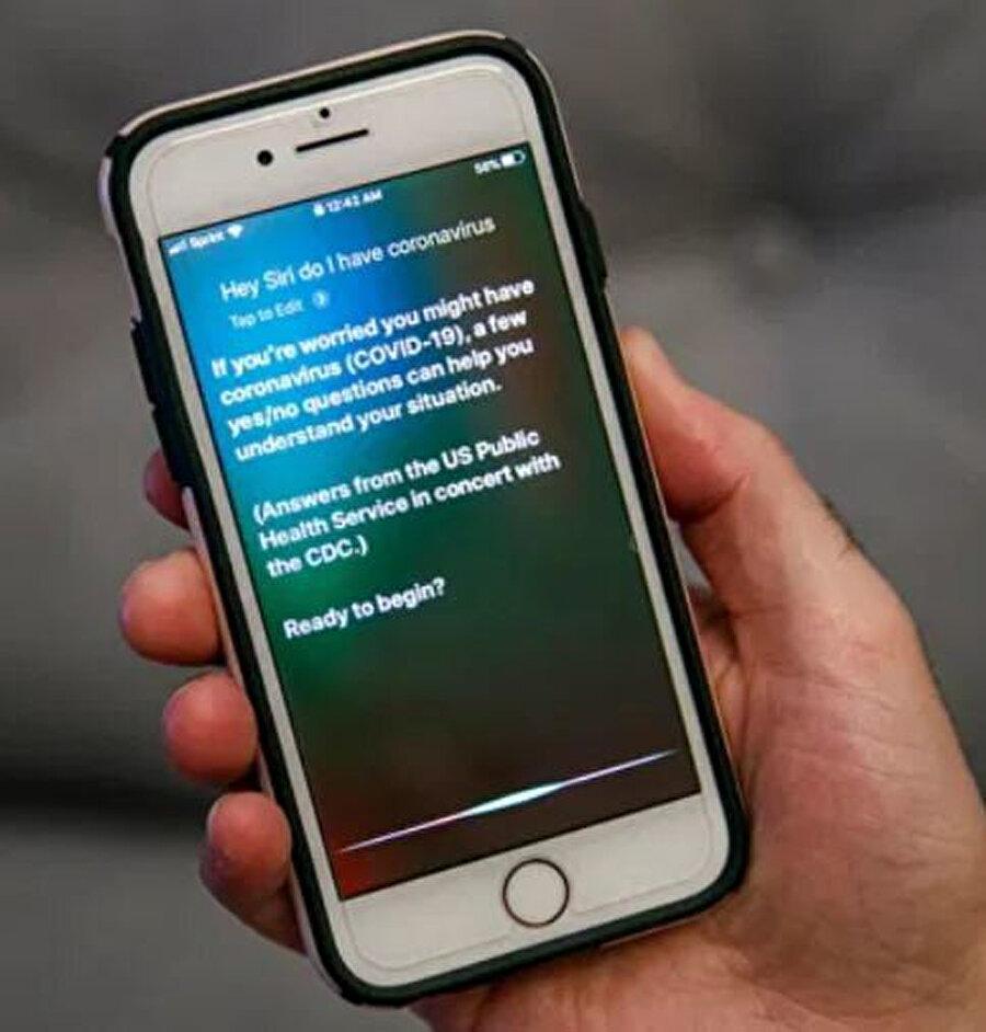 Siri, Coronavirüs hakkında soruları yanıtlamaya başladı.