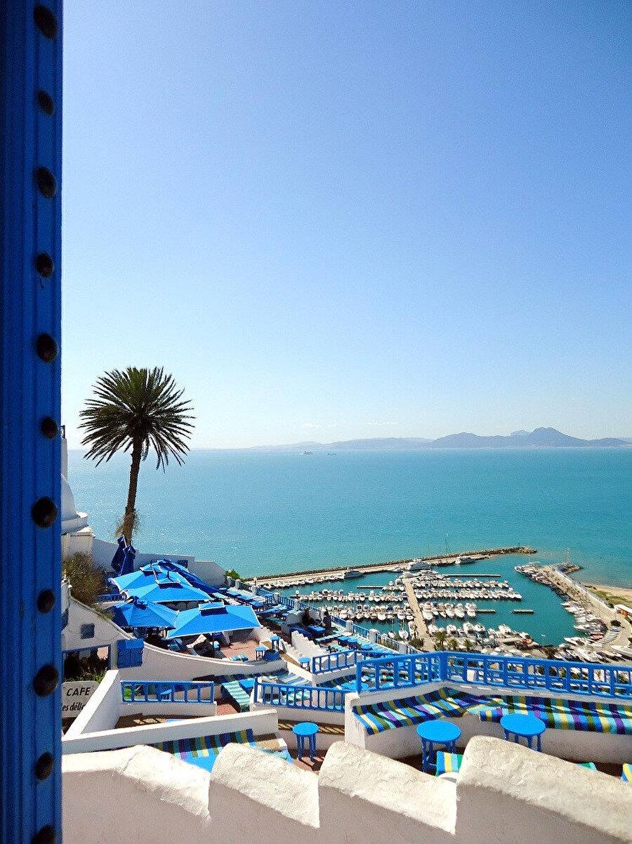 Sidi Bu Said Unesco Dünya mirasları listesinde