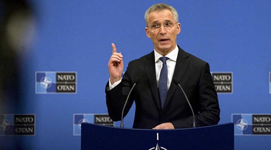 NATO Genel Sekreteri Jens Stoltenberg...