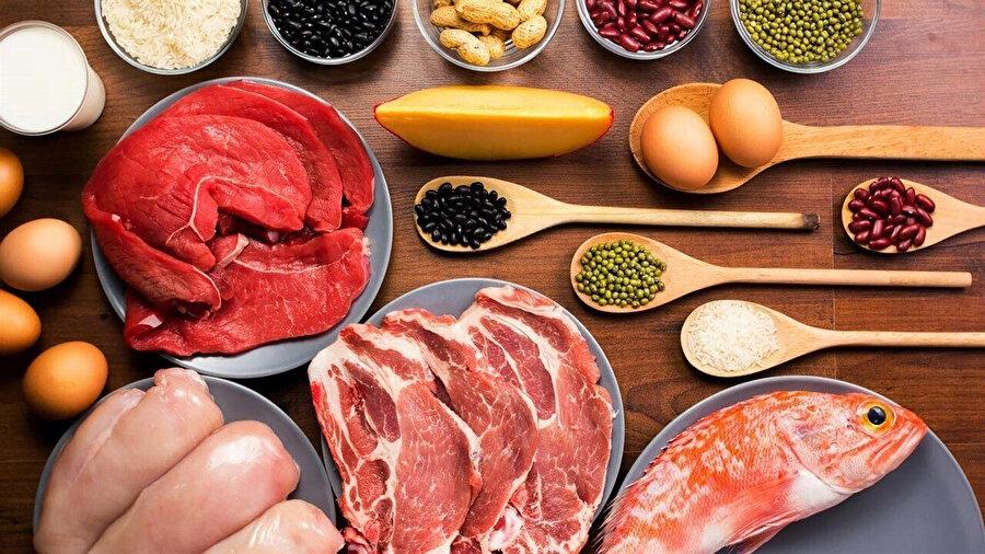 Tüketilen gıdaların protein, lif ve mineral açısından zengin olması bu dönemi atlatmada oldukça kolaylık sağlar