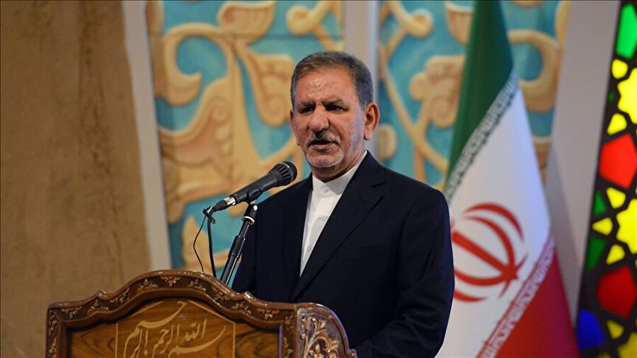 İran Cumhurbaşkanı Yardımcısı İshak Cihangiri.