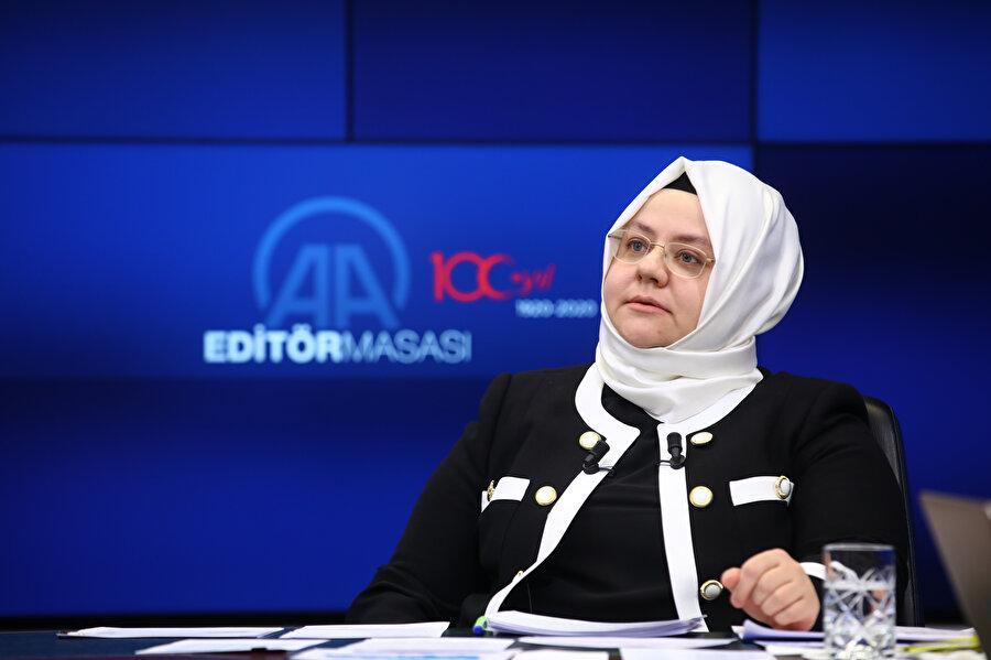 Çalışma Bakanı Zehra Zümrüt Selçuk (Arşiv)
