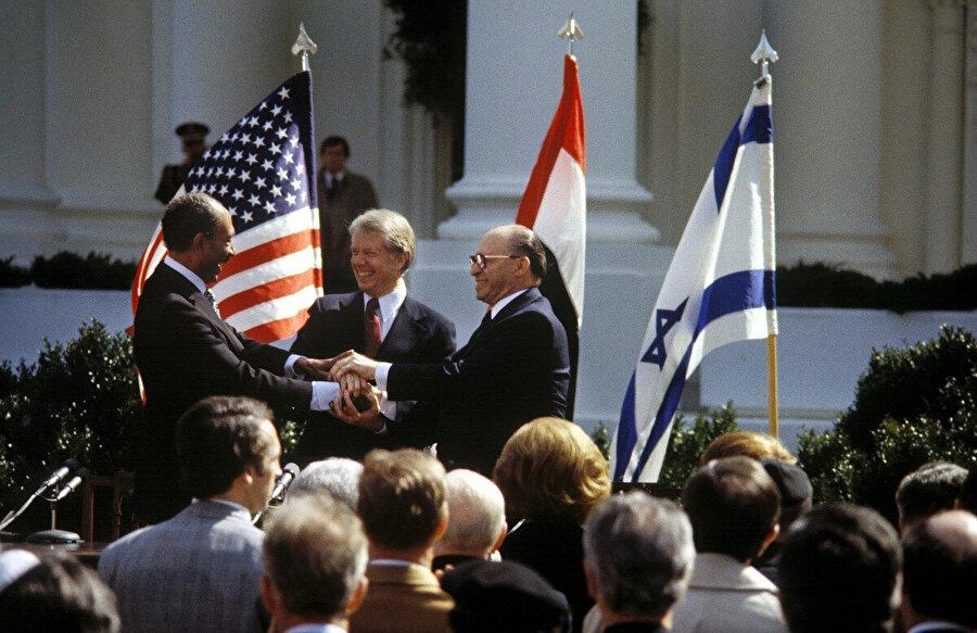 26 Mart 1979'da Washington'da imzalanan Mısır-İsrail Barış Anlaşması.