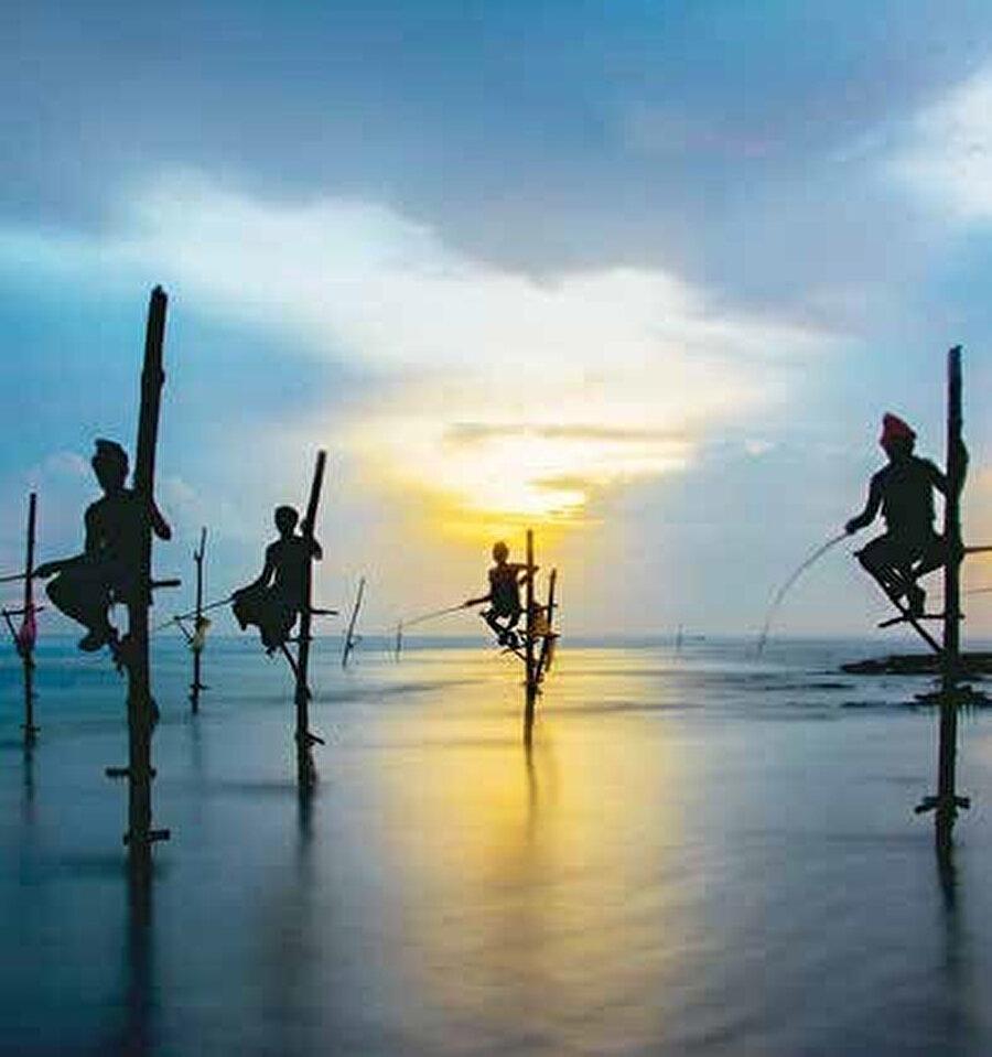 Sri Lanka'nın sömürge dönemindeki en önemli liman kenti olan Galle.