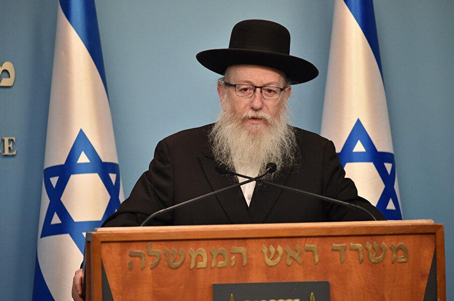 İsrail Sağlık Bakanı Yaakoz Litzman da virüse yakalandı.