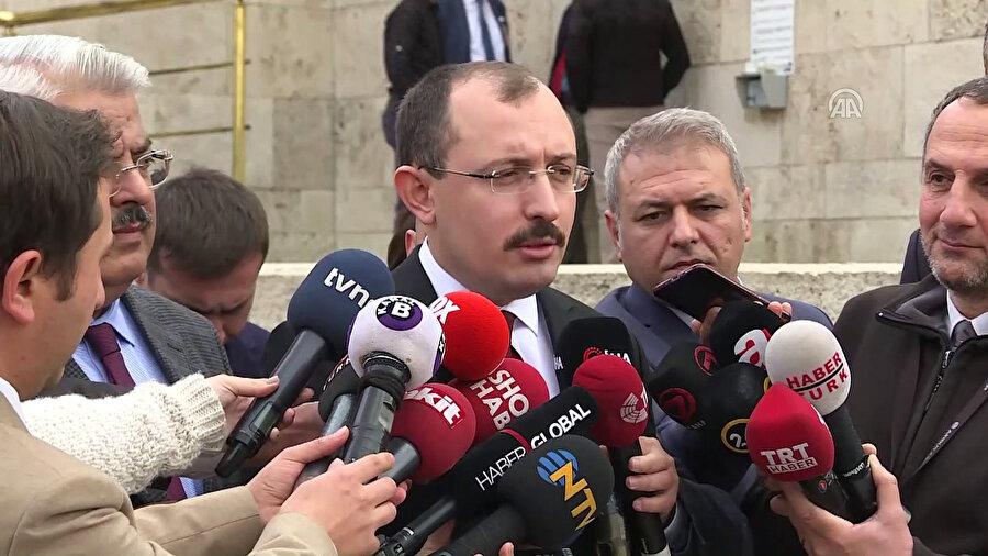 AK Parti Grup Başkanvekili Mehmet Muş