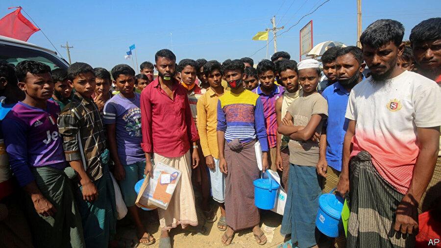 Lambasia Mülteci Kampı, Bangladeş.