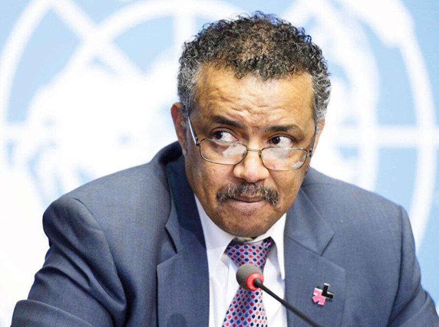 Tedros Adhanom Ghebreyesus (Dünya Sağlık Örgütü Başkanı)