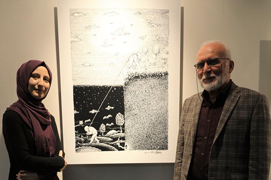 Hasan Aycın Zeytinburnu Kültür Merkezi'nde Nuriye Çakmak Çelik'in sorularını yanıtladı.