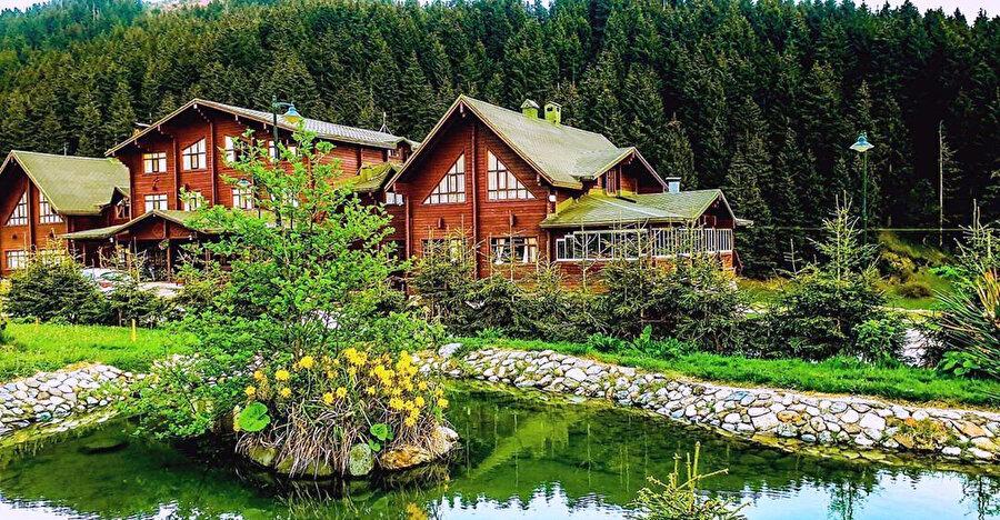 1800mt de Türkiye'nin en temiz havasının bulunduğu bölge olan Giresun Kümbet Yaylası'nda bulunan Birun Kümbet Dağ Evi, tatil için uğrak yerlerden biri.