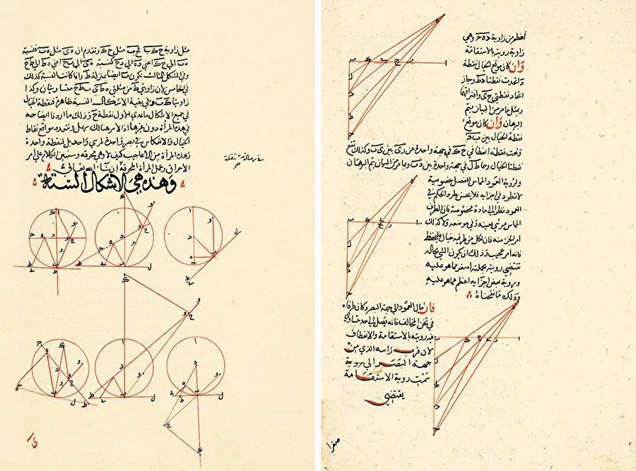 Takiyyüddin er-Râşid'in el yazması