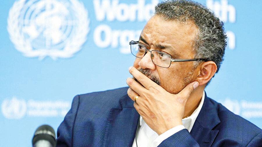 Dünya Sağlık Örgütü başkanı Tedros Adhonam Ghbreyesus