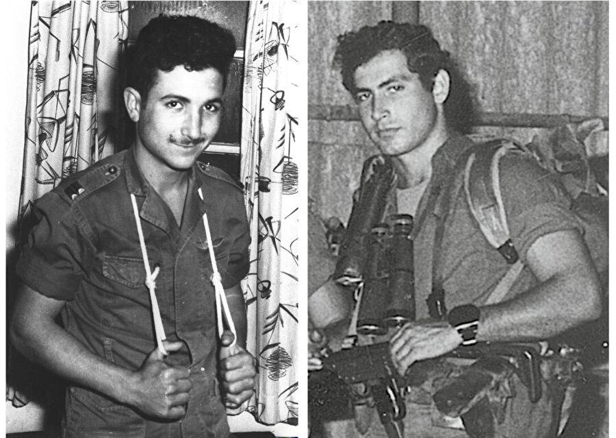 Barak (Solda) ve Netanyahu, ilerleyen yıllarda İsrail başbakanlığı yapacaklardı.