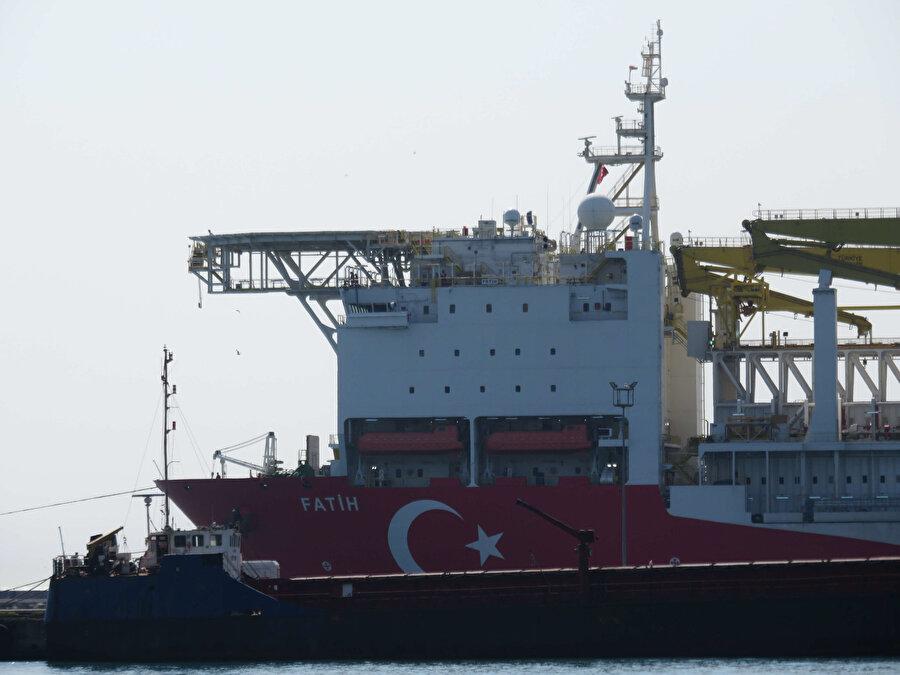 Fatih sondaj gemisi böyle görüntülenmişti.
