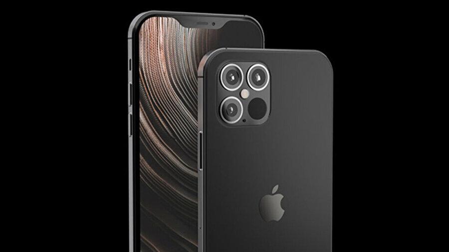 Yeni nesil iPhone 12 prototiplerinden biri. Yine arkada üç kamera yer alması bekleniyor.