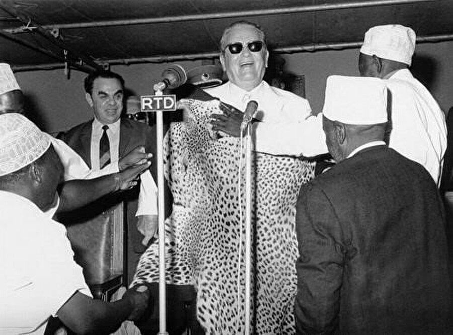 Afrika da, Tito'nun dış politikasında önemli bir yer işgal ediyordu.