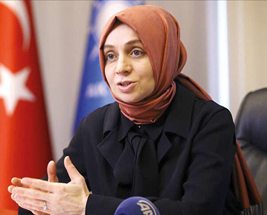 AK Parti İnsan Hakları Başkanı ve Konya Milletvekili, Leyla Şahin Usta