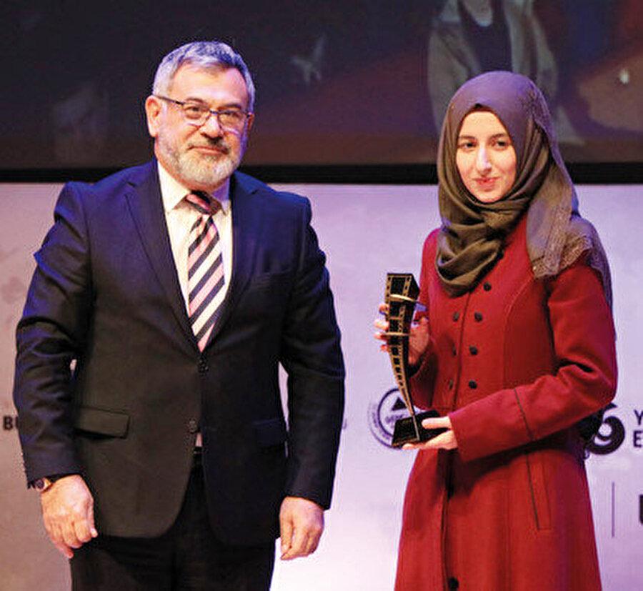 Selime Coşkun animasyonu ile ödül almıştır.