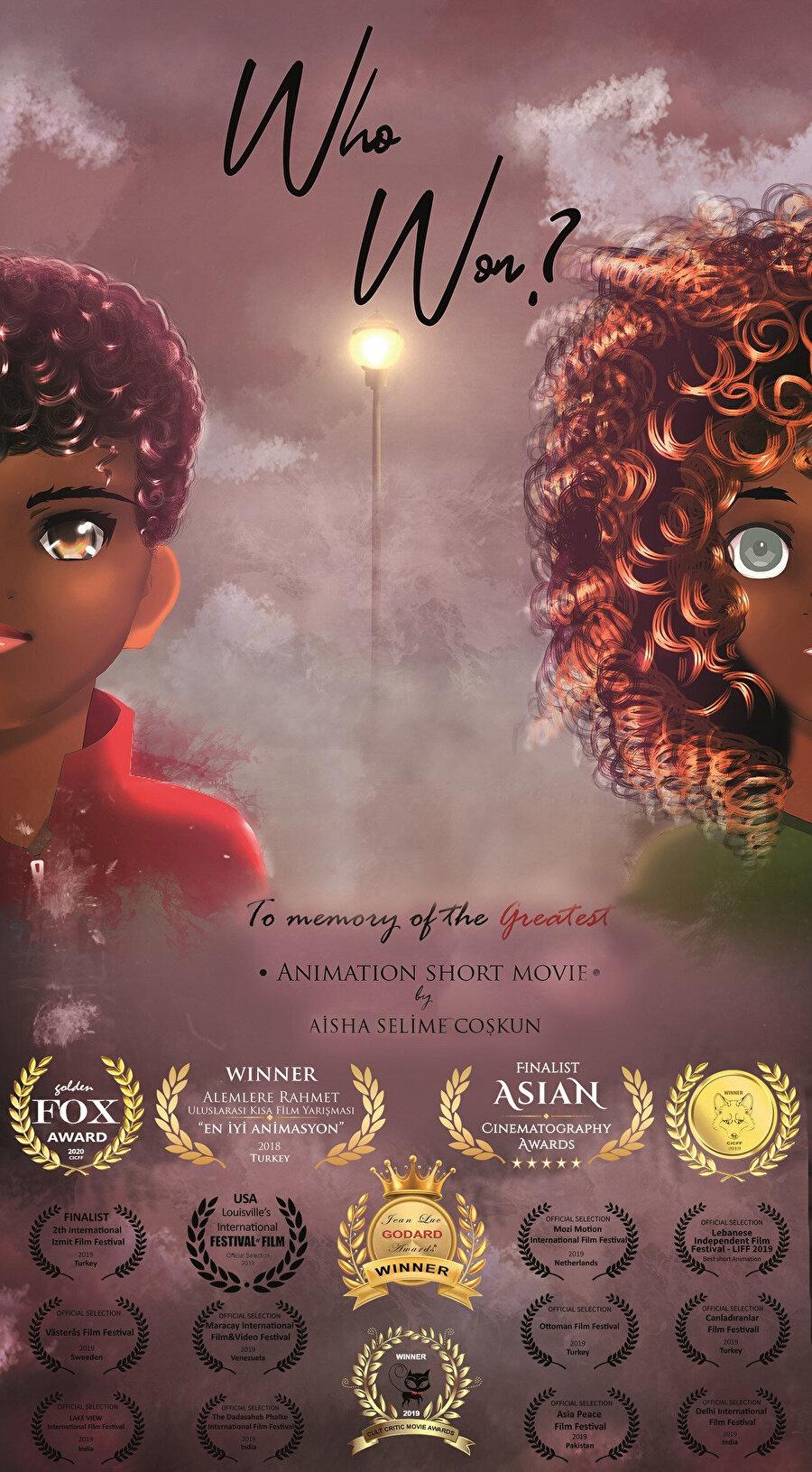 """Selime Coşkun'un """"Muhammed Ali"""" animasyonu"""