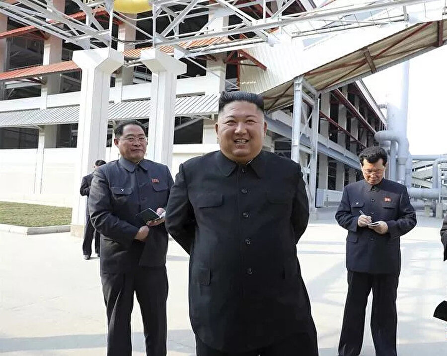 Kim Jong-un iyi durumda olduğu gözlendi