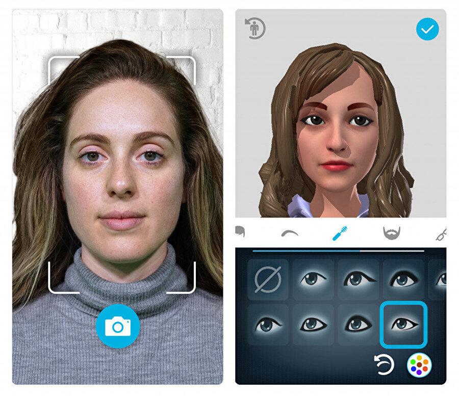 Sanal toplantılara girmeden önce gerçekçi avatarınızı oluşturmanız gerekiyor. HTC burada birçok farklı detay sunuyor.