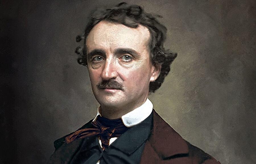 Amerikalı şair, yazar, editör ve edebiyat eleştirmeni Edgar Allan Poe.