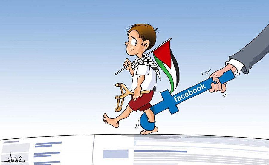 Filistin direnişini destekleyen hesaplar Facebook tarafından doğrudan kapatılıyor.