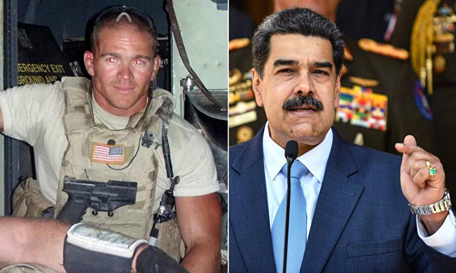 Maduro'ya darbe girişiminde bulunacağını itiraf eden ABD'li asker