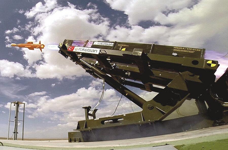 ASELSAN-ROKETSAN iş birliğiyle geliştirilen system paletli ve tekerlekli araçlar üzerinde görev yapabiliyor.