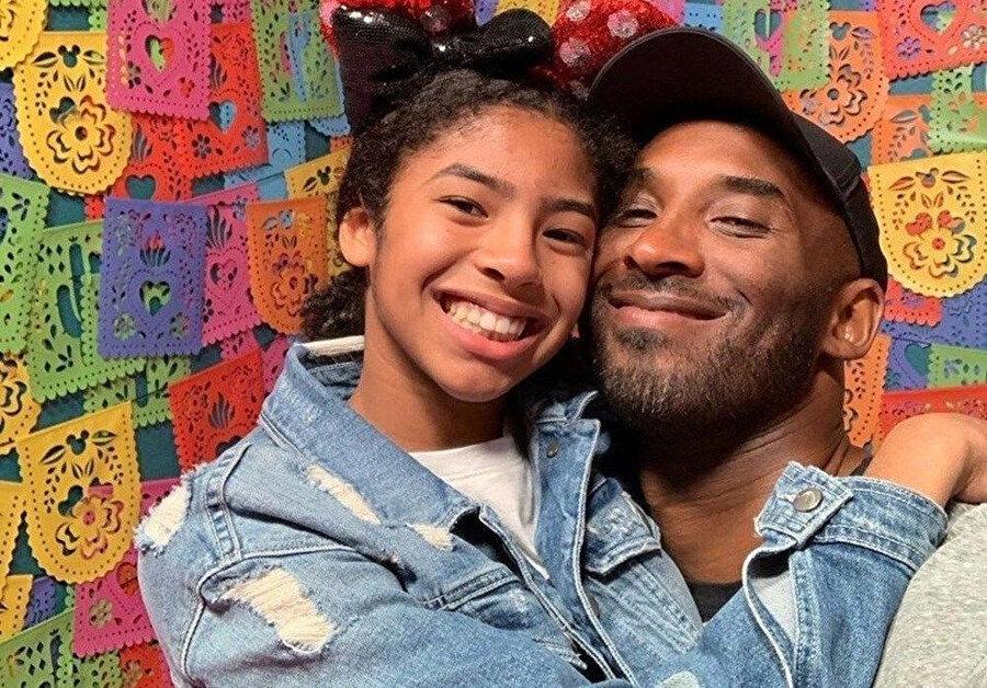 Kobe Bryant ile 13 yaşındaki kızı Gianna