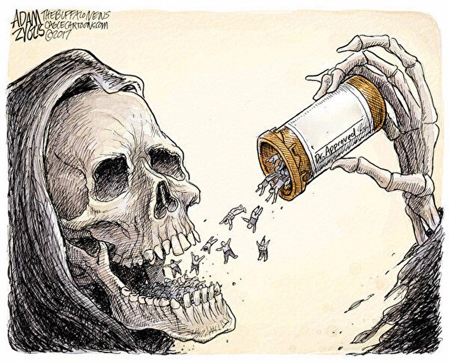Bu ilaç devlerinin yaptığı sahtekârlıkları ABD dışında ülkeler büyük paralarla cezalandırmaya cesaret edemezler.