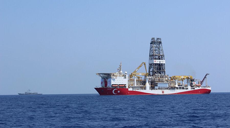 Türkiye'nin Doğu Akdeniz'deki sondaj çalışmaları devam ediyor.