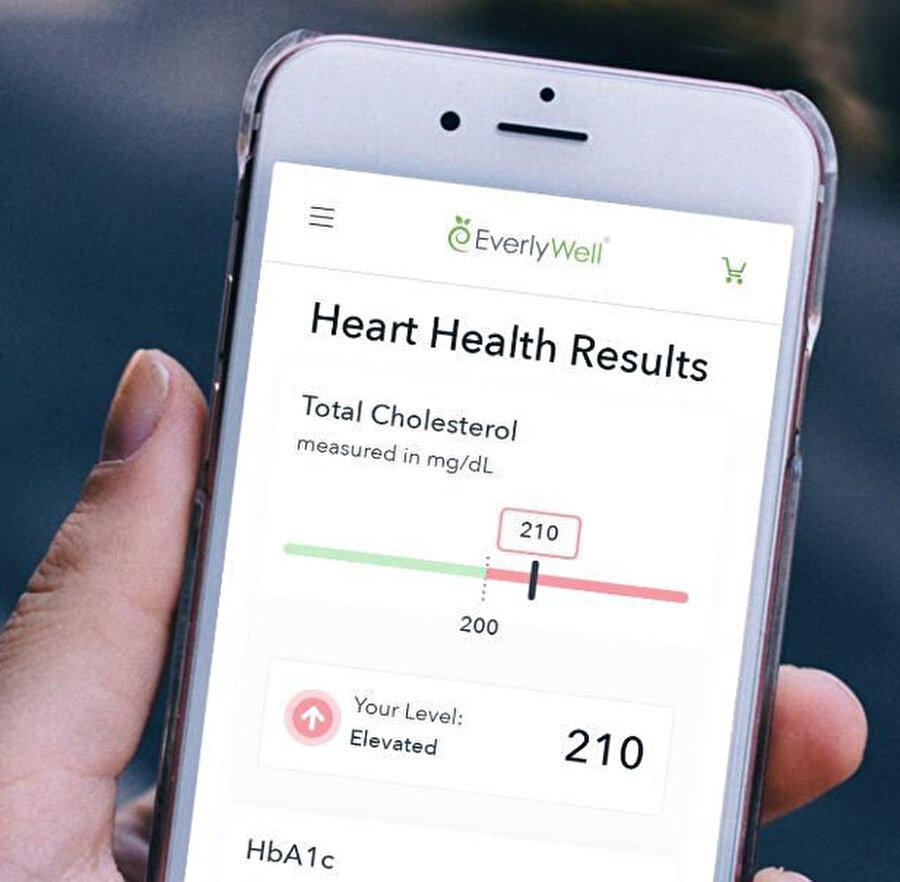 Yapılan testlerin sonuçları mobil uygulamalar üzerinden takip edilebilecek.