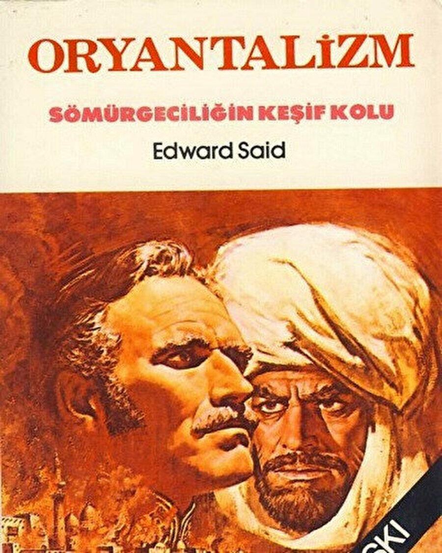 """Edward Said'in """"Oryantalizm"""" adlı eserinin eski bir Türkçe basımı."""