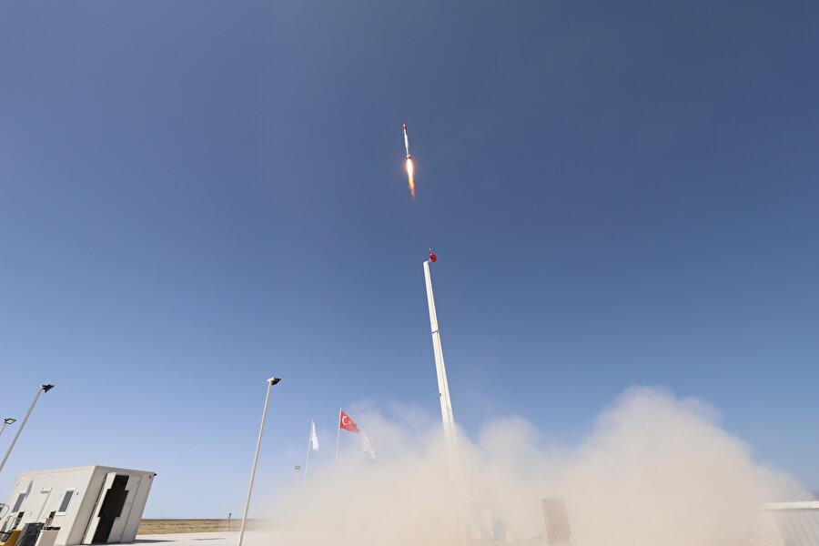 Roket motorunun deneme atışları 11 kere gerçekleştirildi ( Aralık 2019)