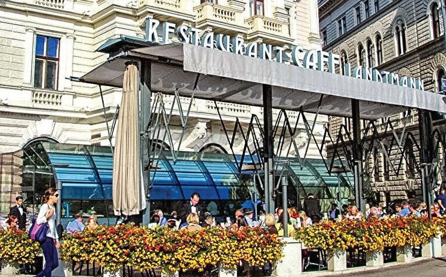 Kafe, Rathauspark Belediye Binası ve Federal Başbakanlığının yakınlarındaki Palais Lieben-Auspitz binasının zemin katını kaplar.