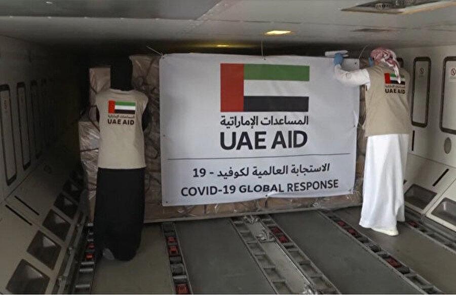 Birleşik Arap Emirlikleri'nin yolladığı 14 tonluk tıbbi yardım malzemesi Filistin yönetimi tarafından geri çevrildi.