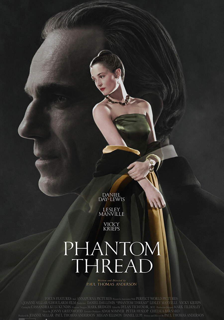 sıra dışı aşk hikâyesinin arka planında İkinci Dünya Savaşı sonrası Londra'nın moda ve cemiyet hayatından izlenimler sunan Phantom Thread, geçmişi güzellerken bir yönüyle de kaçınılmaz olarak zamanımızın ruhundan izler taşıyor.