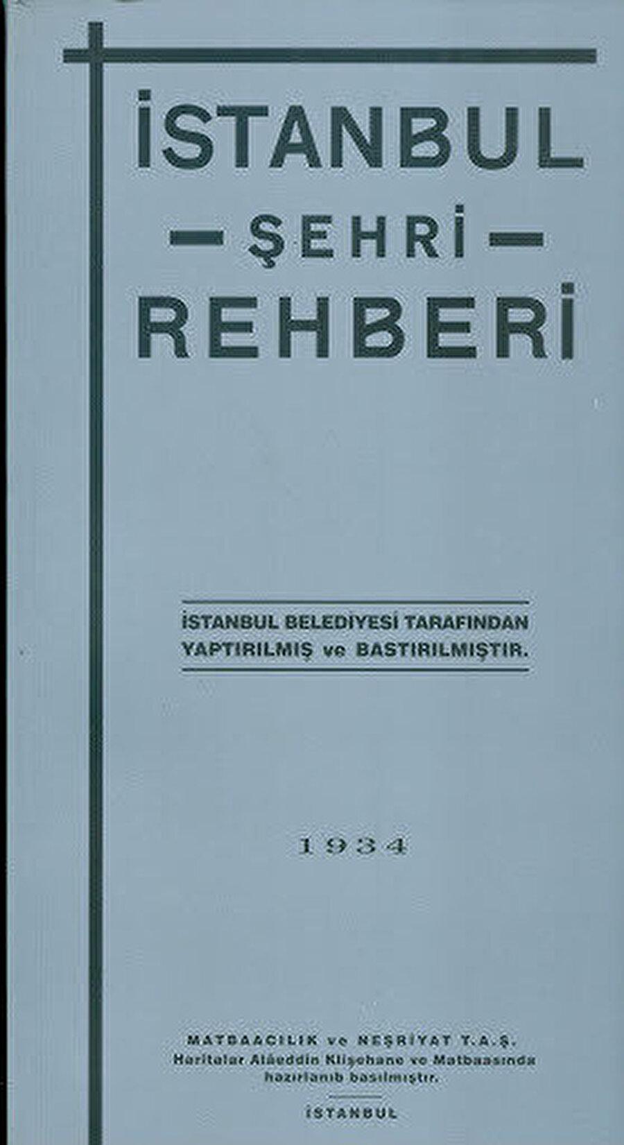 Tüm bu paha biçilemez işlerden sonra, bugün de aşılamamış eserini yazar: 1934 İstanbul Şehir Rehberi.