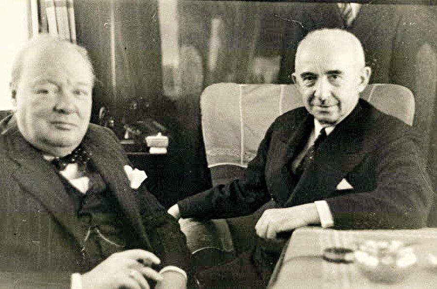 İnönü ve Churchill