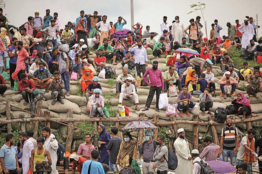 Dünyada 60 milyondan fazla mülteci olduğu söyleniyor.