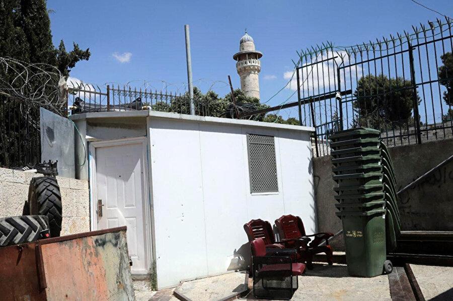 İyad'ın polislerden kaçarken sığındığı yer.