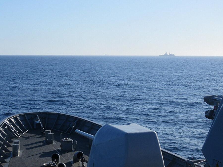 İyon Denizi'nden bir görüntü.