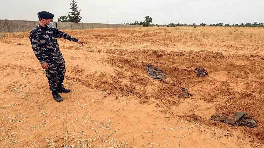 Şu ana kadar Libya'da 8 toplu mezar bulundu.