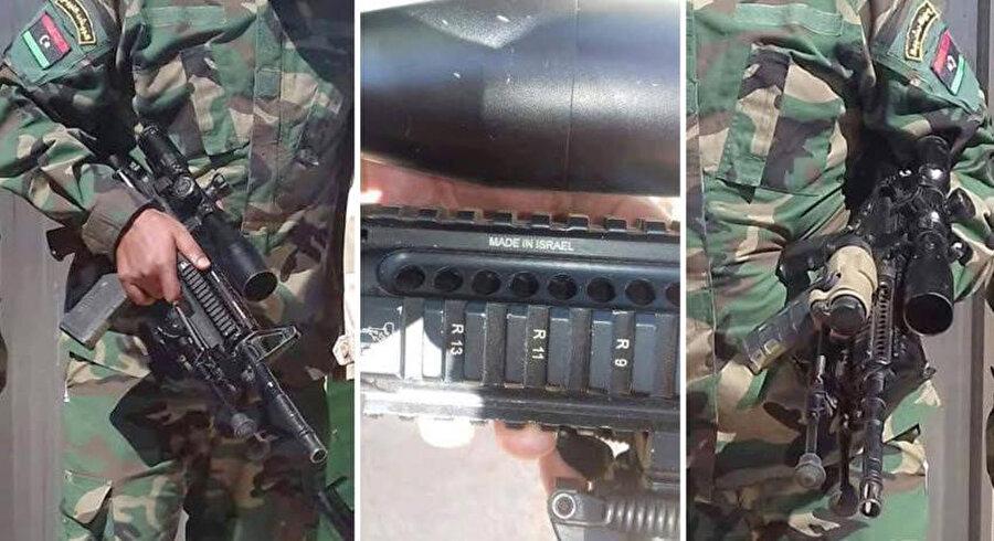 BAE ve Mısır üzerinden Hafter güçlerine ulaşan İsrail yapımı silahlar.