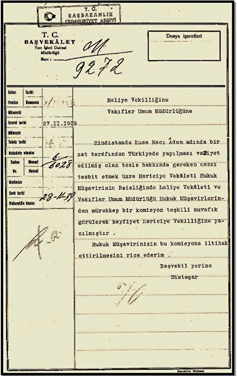 1939 yılında dahi bazı Güney Afrikalı Müslümanların miraslarını Türkiye'ye bağışlıyor olmaları Sultan Halife Abdülhamid'in Afrika'da kurduğu sağlam bağların müşahhas bir delilidir.
