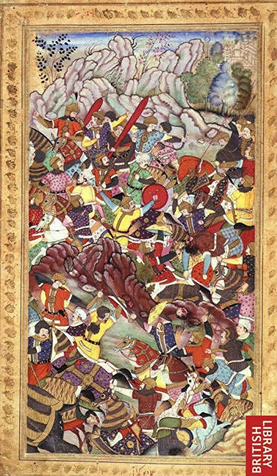 I. Panipat Savaşı'nda Babür Şah ve Lodi Hanedanından İbrahim Lodi arasında geçen mücadele.