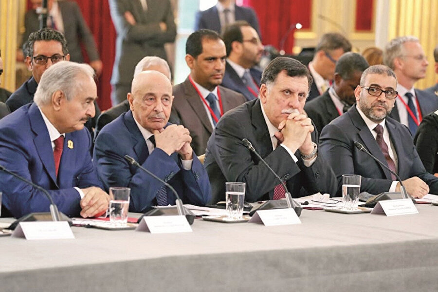 Trablus'taki Devlet Yüksek Konseyi Başkanı Halid el-Meşrî