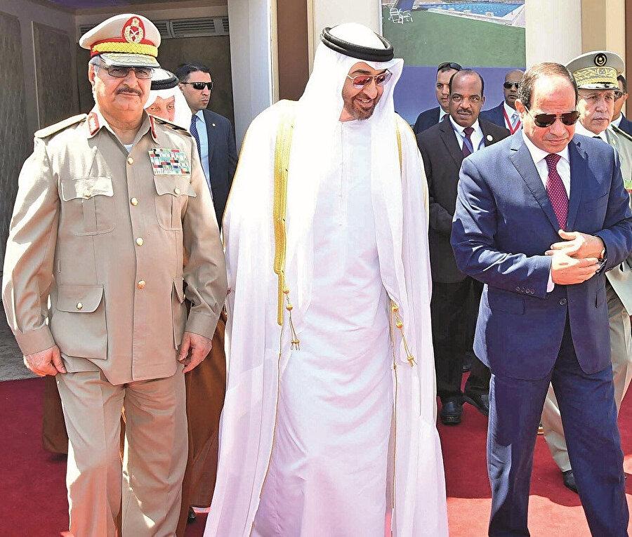 Hafter - Bin Zayed - Sisi