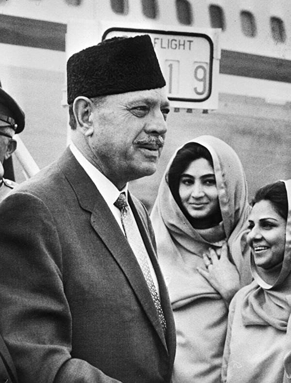 Eski Pakistan Devlet Başkanı Muhammed Eyüp Han 1972.